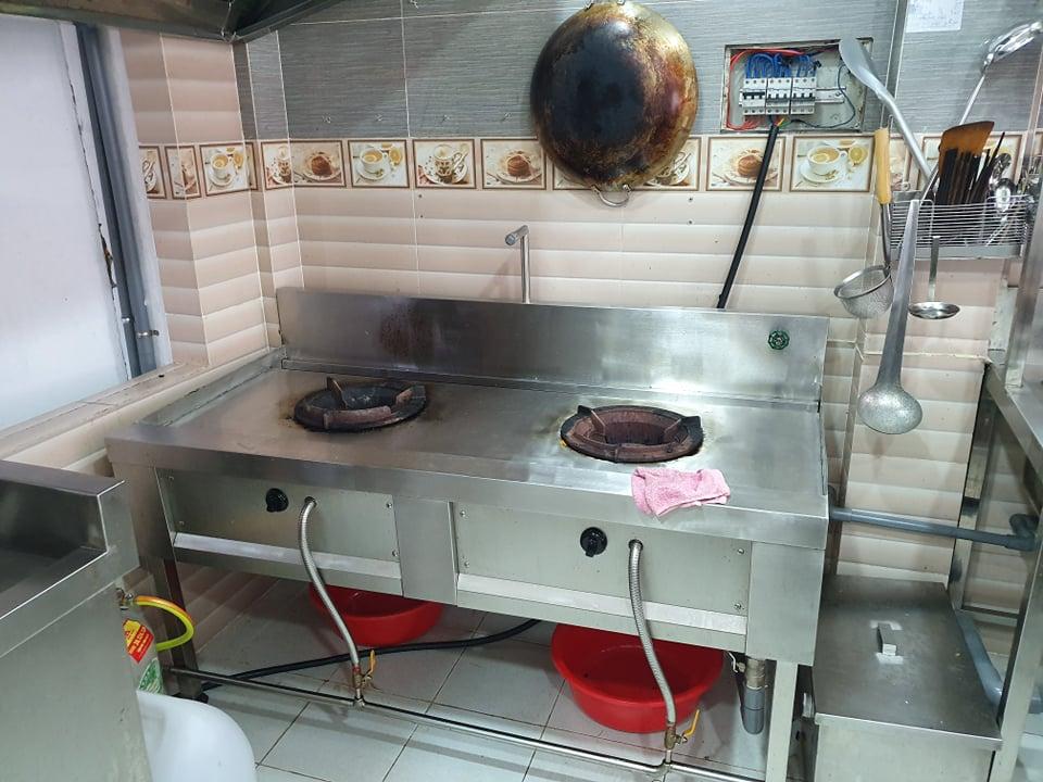 Thanh lý bếp công nghiệp nhà hàng