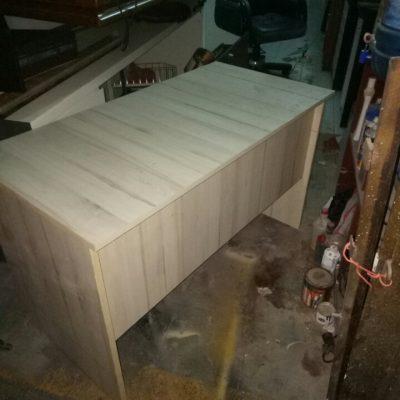 Bàn làm việc cũ 1m2 gỗ MFC